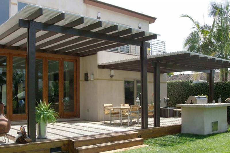 Deck solutions exteriores con estilo - Picturesque patio shade ideas ...